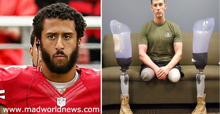 After Double Amputee Vet Puts Kaepernick In His Place, BLM Delivers Nasty Surprise