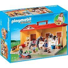"""Playmobil - Nouveautés 2015 - Ecurie Transportable - 5378 - Playmobil - Toys""""R""""Us"""