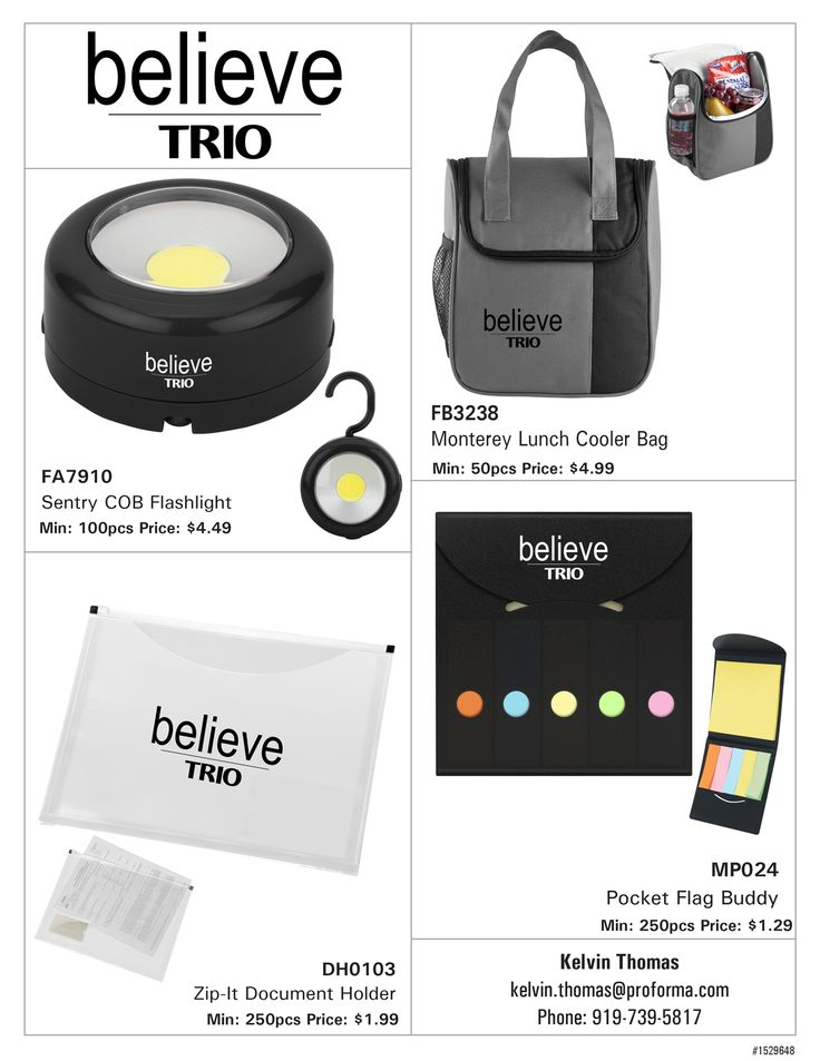 #TRIO Believe ideas