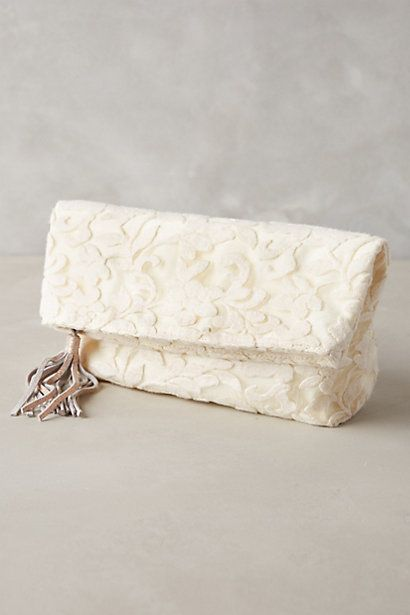tevere foldover clutch / anthropologie