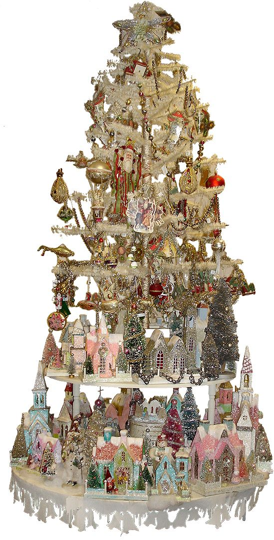 What a great way to display the glitter houses I want to make.