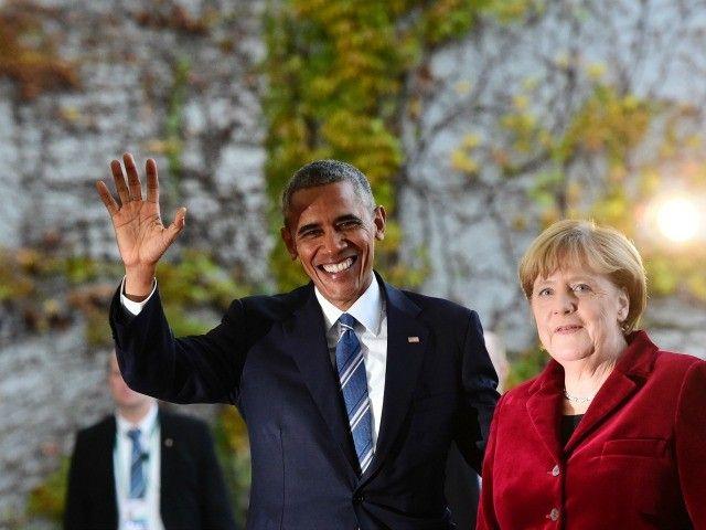 Obama Subtly Endorses Angela Merkel for Re-election - Breitbart