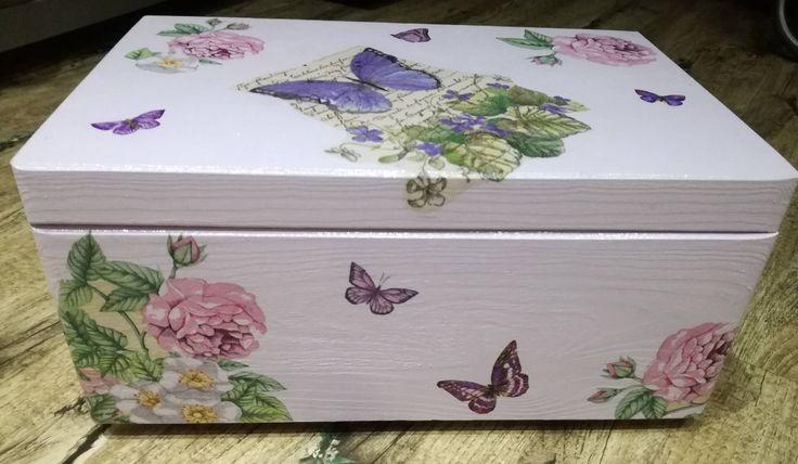 Storage box/ Toy box by DedeHandmadeJewels on Etsy
