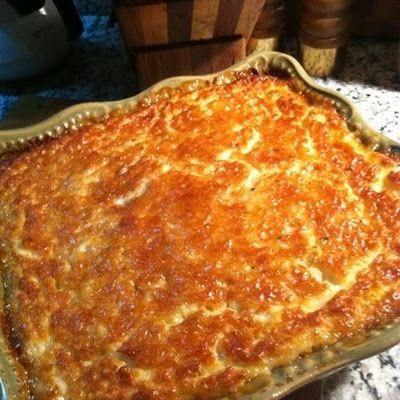 Tennessee Honey Corn Pudding @keyingredient #honey #casserole