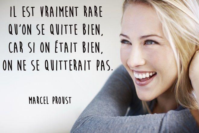 Citation rupture de Marcel Proust