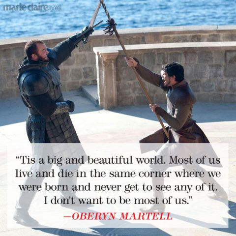 One of my favorite quote from the show || Game of Thrones Quotes That Turned Us Into Superfans