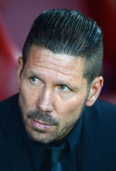 Diego Simeone - New Slick Back Undercut