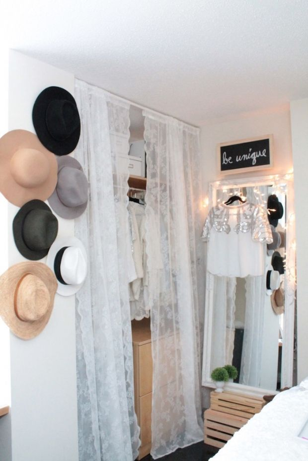 6 Dorm Room Closet Upgrades That Are Worth Your Time | http://www.hercampus.com/life/campus-life/6-dorm-room-closet-upgrades-are-worth-your-time