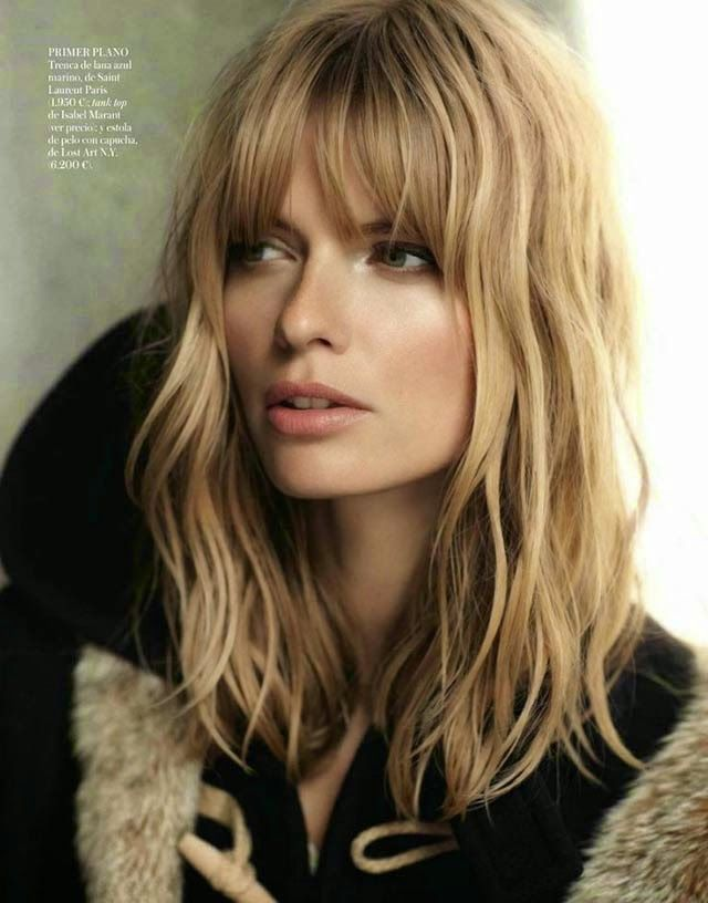 Retro 70's Fringe:  A 2015 Hair Trend Must