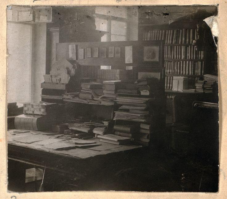 Bureau de Tolstoï - Sergueï Prokoudine-Gorsky (DR Bibliothèque du Congrès Washington)