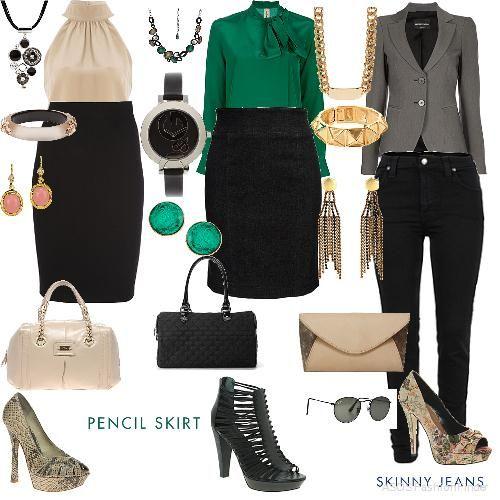 Outfit de oficina mujer - Imagui