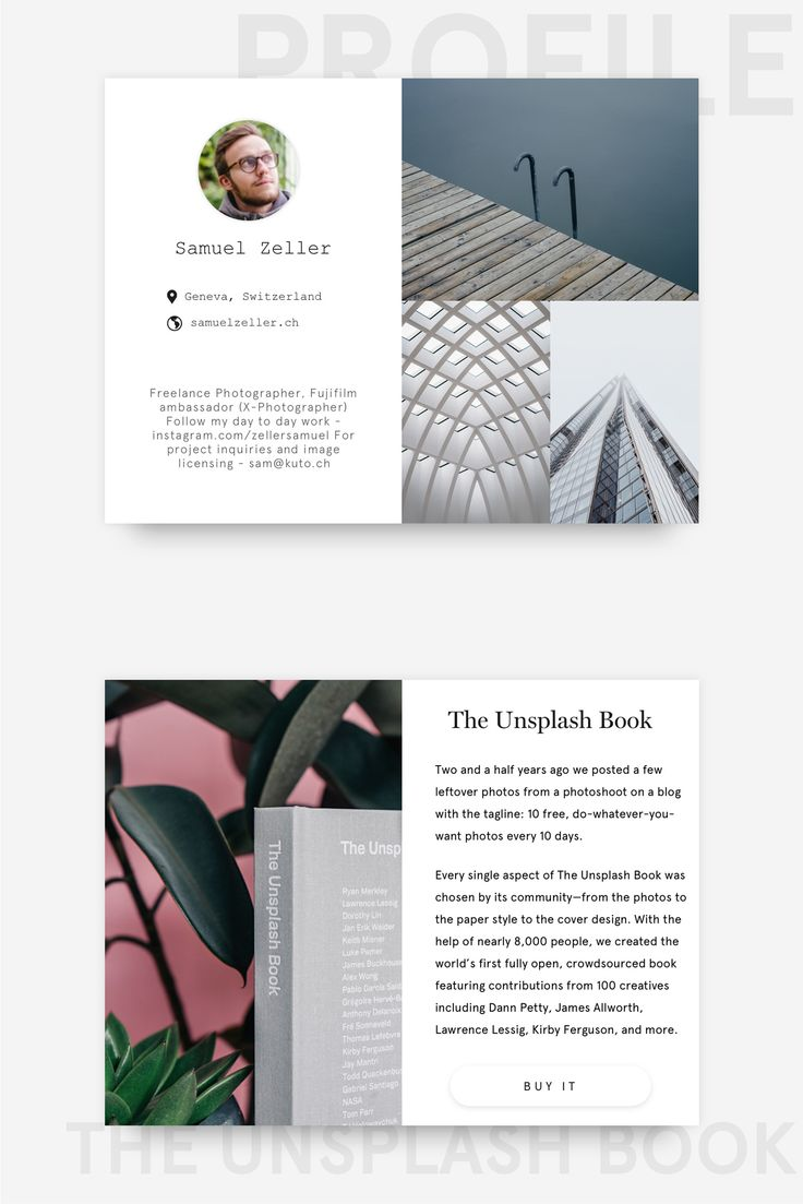 Unsplash Redesign - Web UI on Behance
