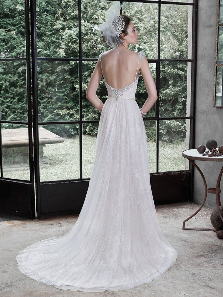 Alanis Wedding Dress by Maggie Sottero   back