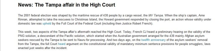 Validity of the PNG solution tested in the High Court