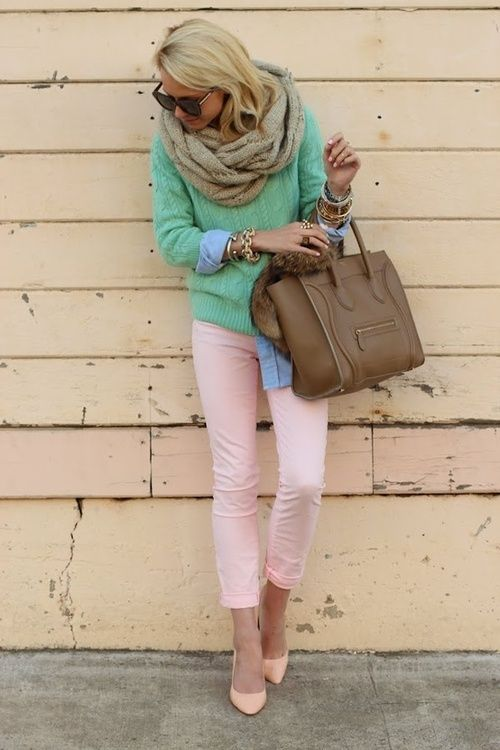 Such a cute color combo.