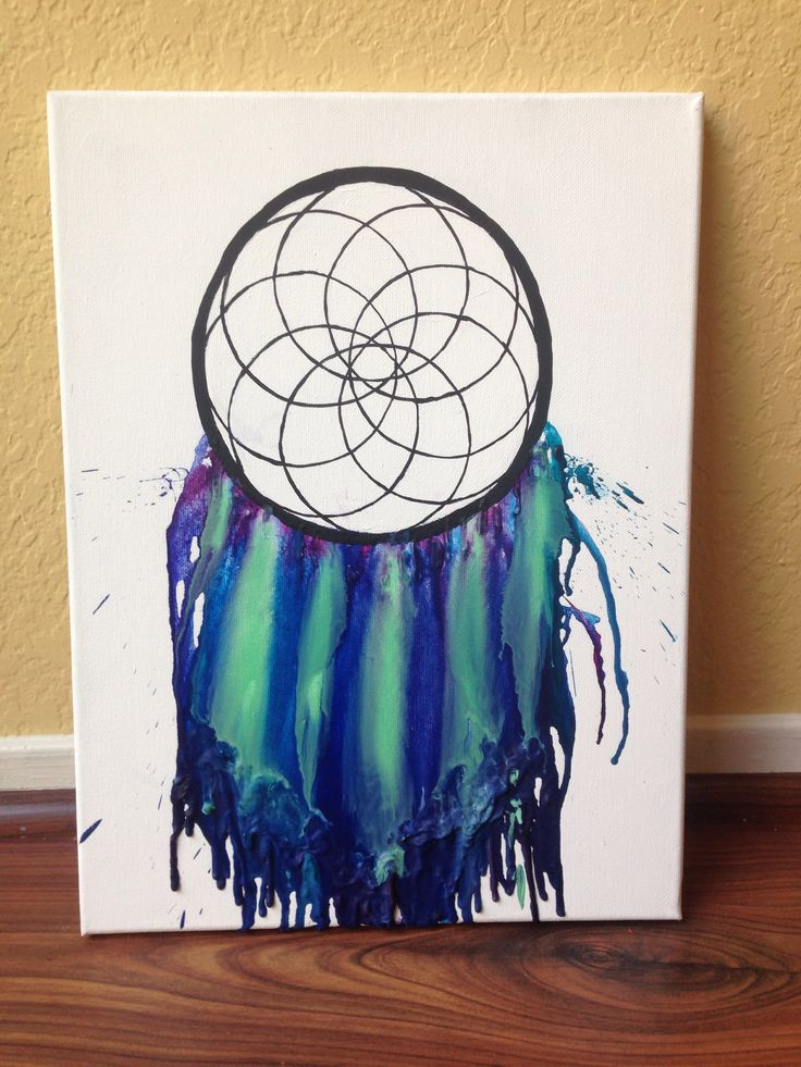 45 best crayon art images on pinterest melted crayons crayons and dreamcatcher melted crayon art solutioingenieria Image collections