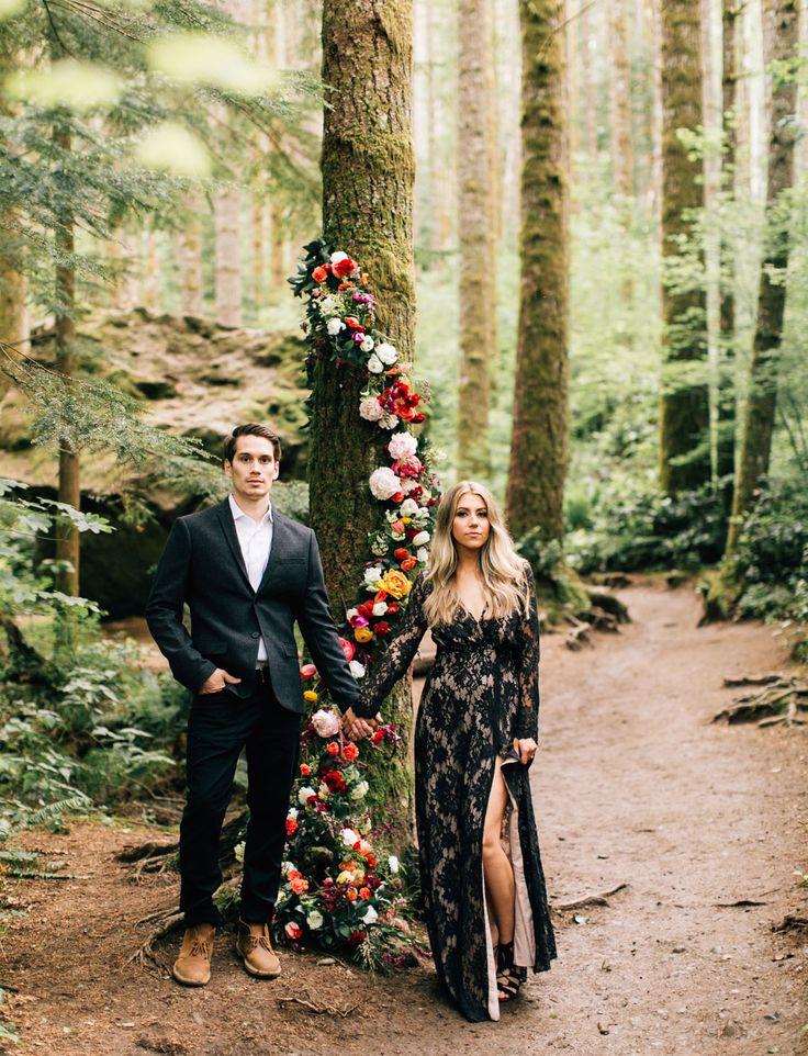 Wedding Inspiration | Glam Engagement Shoot!