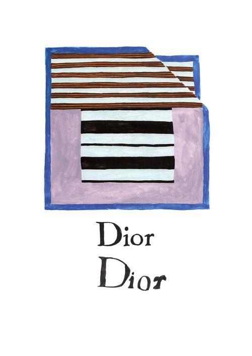 #dior #illustration #fashion