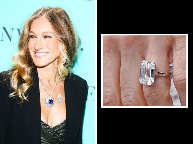 Sarah jessica parker matthew borderick proposed with a 5 for Sarah jessica parker wedding ring