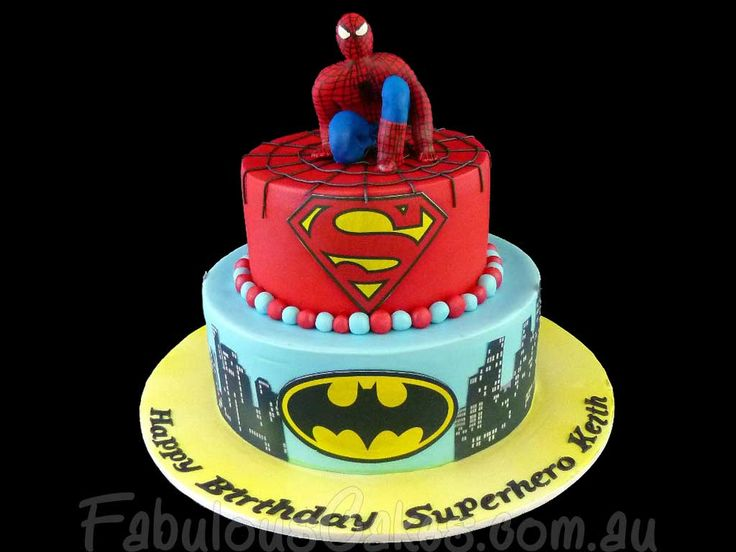 Cake Design For Birthday Man : 17 Best images about Spiderman Cakes on Pinterest Spider ...