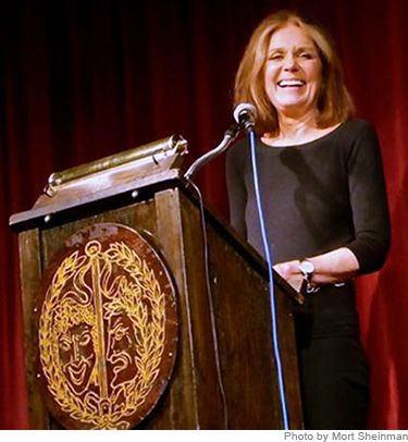 """Gloria Steinem: An Award for My Mother. """"I suspect that like many women here I am living out the unlived life of my mother."""""""