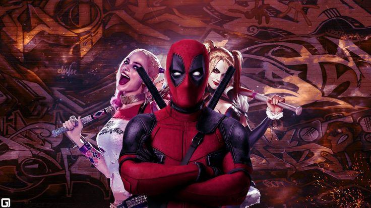 New Harley Quinn Movie Background Wallpaper HD 2
