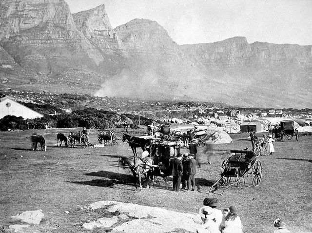 Camps Bay, before the days of the pavilion 1905 | Flickr - Photo Sharing!
