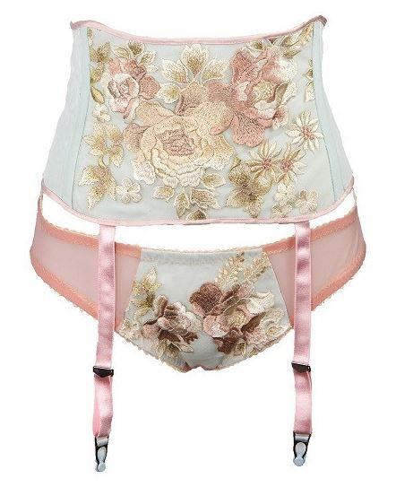 Dottie's Delights Tonight or Never suspender belt & knickers, ~£247