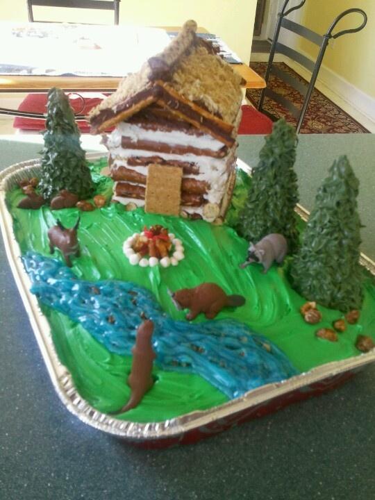 River Cake Designs