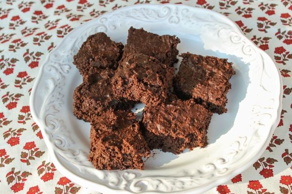 sweet potato brownies from the fitnessista