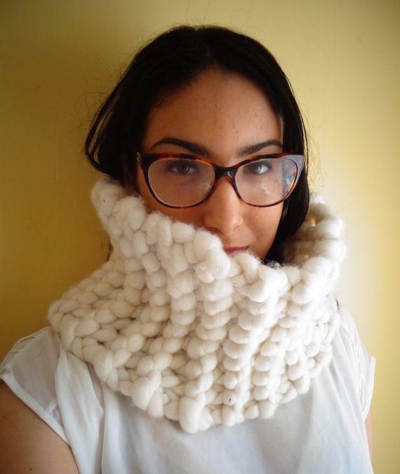 Super Soft  Big Merino Cowl by deorigenchile on Etsy