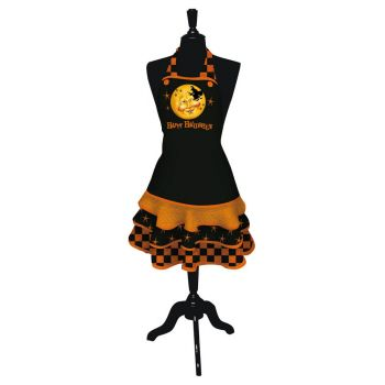 Apron Hair-raising Halloween by Evergreen Enterprises (www.myevergreenonline.com)
