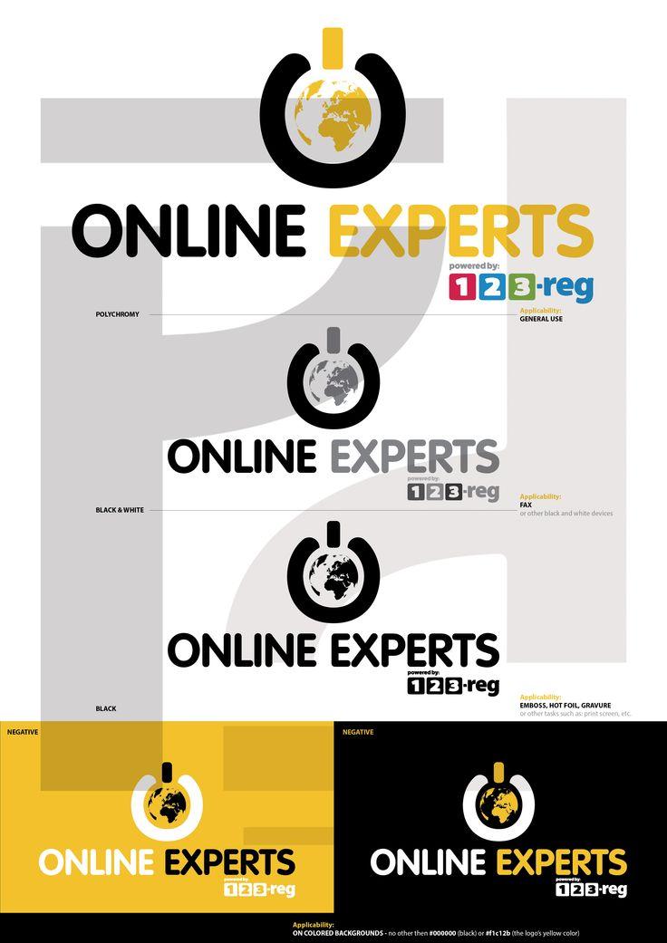 ONLINE EXPERTS Logo Proposal