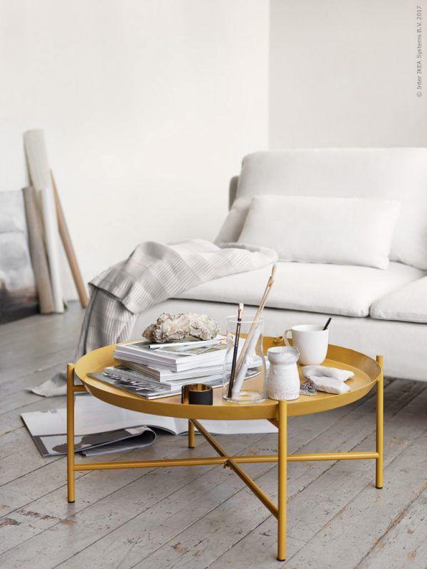 A dreamy Ikea living room
