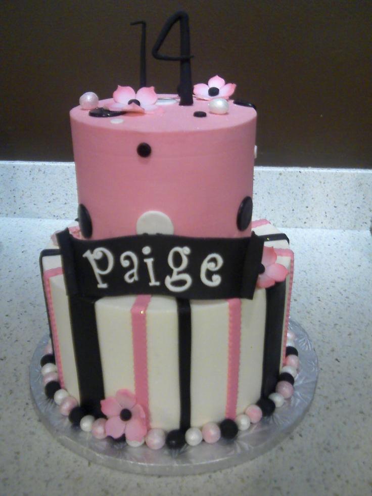 15 best Birthday cakes images on Pinterest Girly birthday cakes