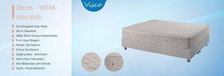 Full Ortepedik Yaylı Yatak     28 cm Yükseklik    320gr Örme Kumaş Kullanılmıştır    5 cm Visco Dolgulu    Pocket  Yay Sistemi    5 Zone Yay Sistemi    Doğal Lateks - Anti Static    Nano Clean Teknolojisi    Anti-Bakteriyel, Anti-Alerjik
