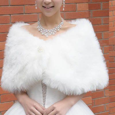 OEM offer the best New White Ivory Faux Fur Wrap Shawl Bridal Accessory Wedding Party Prom Dress. This awesome product currently in stocks, you can get this Misc. now for only  $19.99.