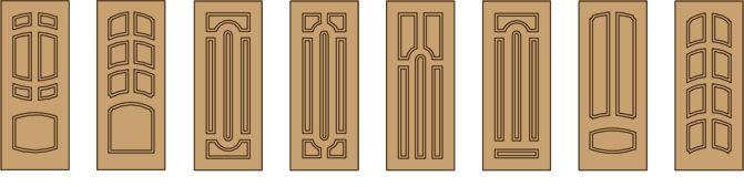 Металлодеревянные двери - стальные двери с отделкой из МДФ