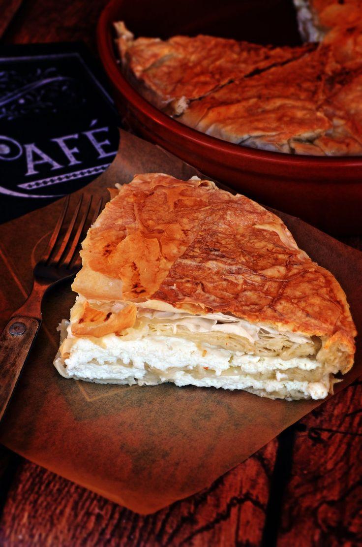 Sós túrós burek, a legegyszerűbb – Rupáner-konyha