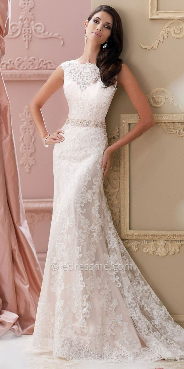 Beach wedding gowns davids bridal wedding dresses asian for Davids bridal beach wedding dresses