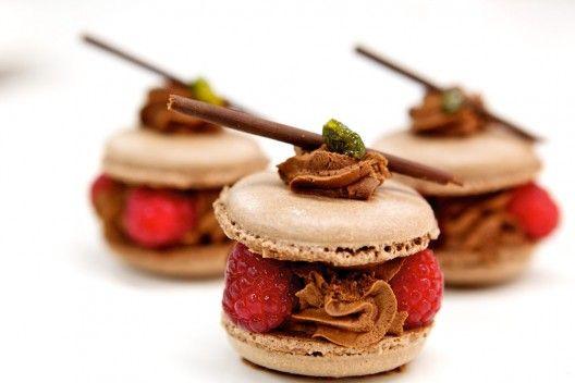 Macarons from Café le Cordon Bleu, Bloomsbury Square, London.