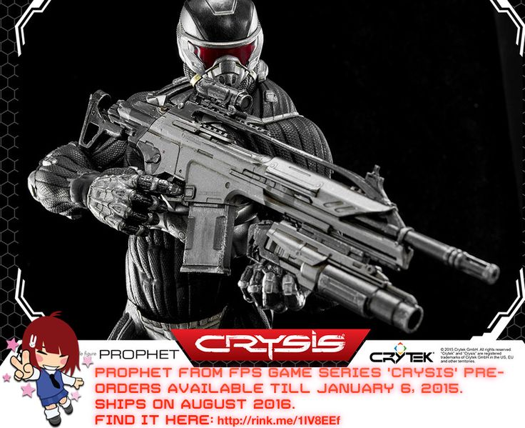 Badass Prophet from FPS game series CRYSIS   #rinkya #japan #crysis #prophet #fromjapan
