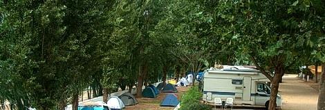 Santarém: Parque campismo - Constancia