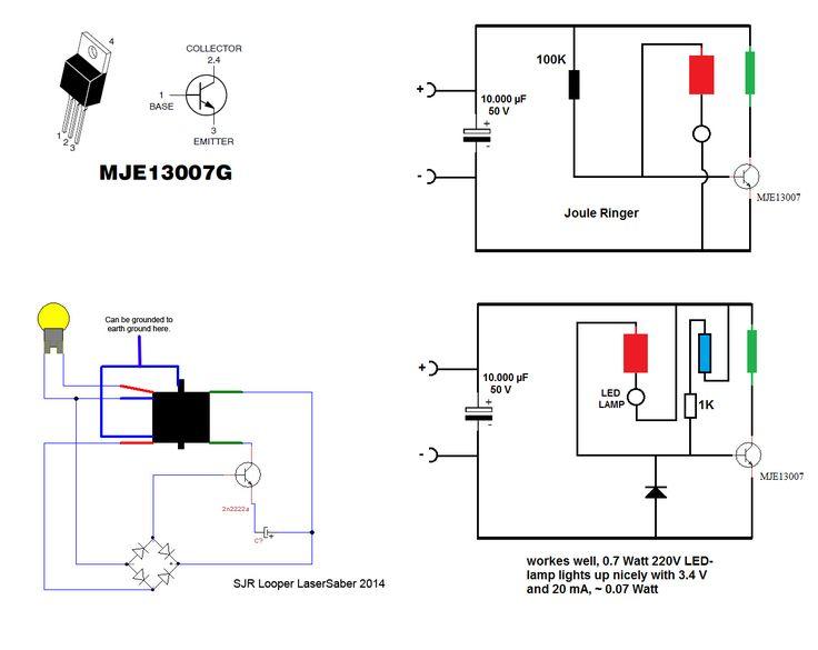 circuit diagram bug zapper
