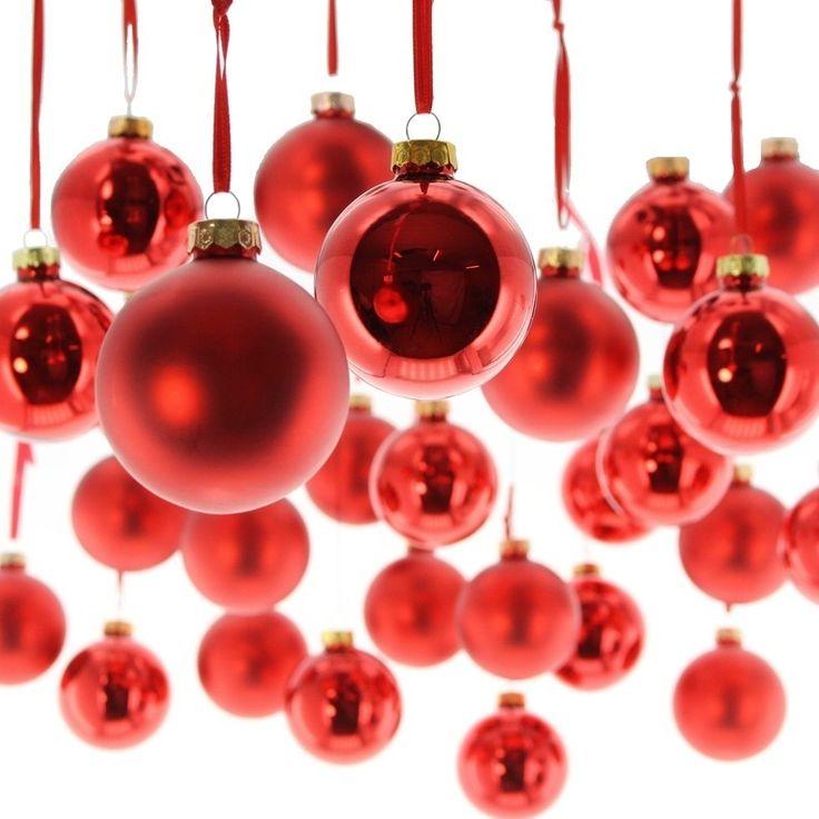 """Christbaumkugeln """"Weihnachtsrot"""", 27er Set"""
