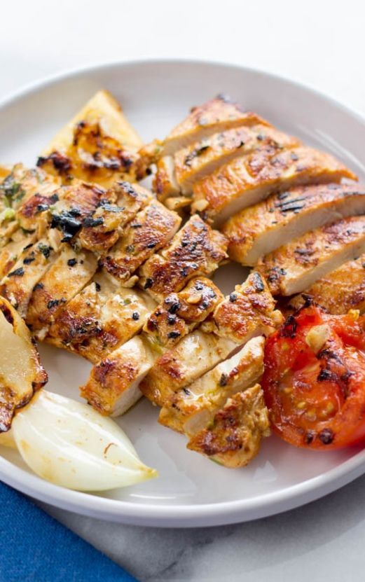 This is my family's go to grilled chicken breast. Sometimes we dice up the chicken and make it into chicken kababs.