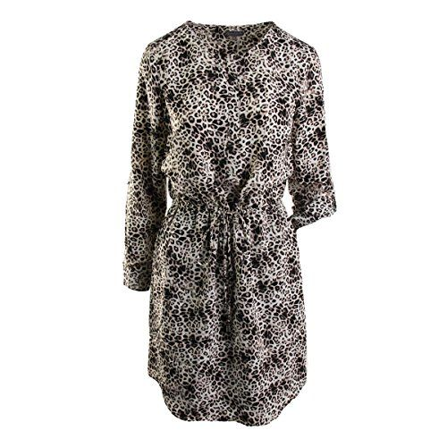 Vince Camuto Womens Animal Print 1/4 Zip Wear to Work Dress Taupe 6. Animal Print. 1/4 Zip. Knee-Length. China.