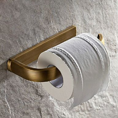 Antique Brass Finish Brass Material Toilet Paper Holders 2997858 2016 – $29.99