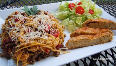 "Gourmet Girl Cooks: ""That's Italian"" - Thursday Night's Italian Feast (Pasta, Baguette Bread & Salad...Wheat/Grain Free)"