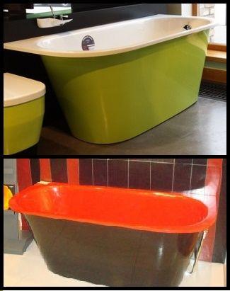 11 best baignoire bathtub paa images on pinterest Baignoire coloree